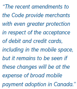 viewpoint canada s regulation of mobile payments merchant